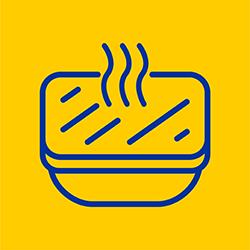 خوراک آماده مصرف گرم